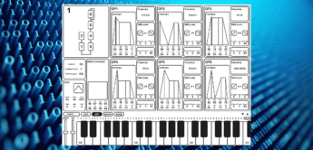 Test: Ryouta Kira KQ Dixie iOS App, FM-Synthesizer