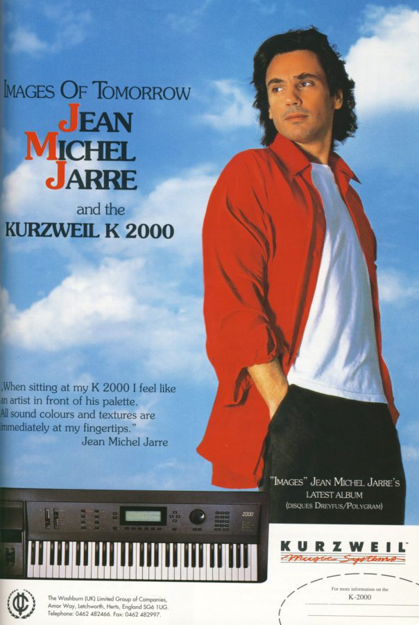 Kurzweil K2000 Werbung JMJ England