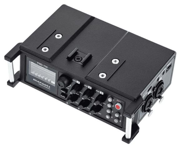 Marantz PMD-706 - Aufsicht rechts