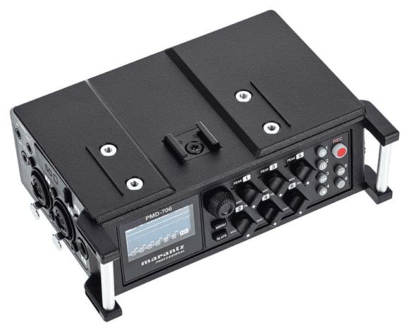 Marantz PMD-706 - Aufsicht links