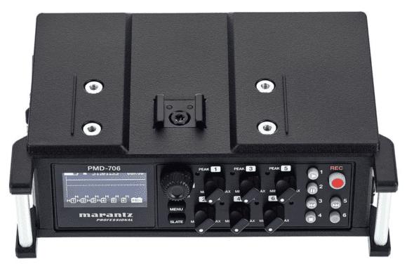 Marantz PMD-706 - Front