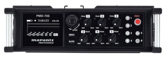 Marantz PMD-706 - Vorderseite