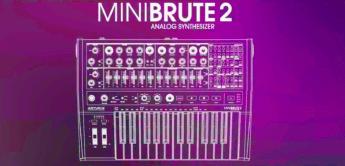 NAMM News 2018: Arturia MiniBrute 2, Analogsynthesizer
