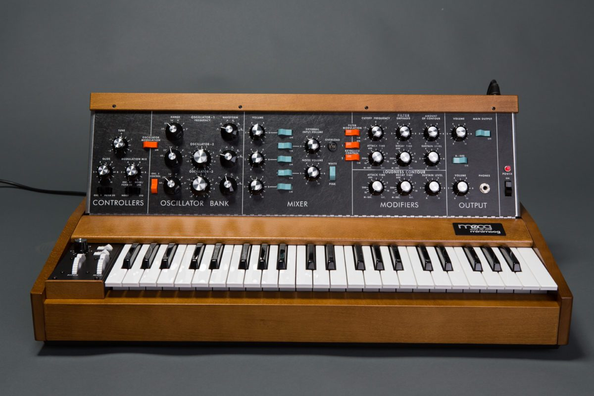 Test: Moog Minimoog Reissue Model D