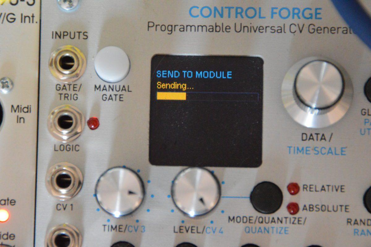 Control Forge sendet...