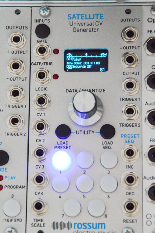 abgespeckt und dennoch vollständig - Rossum Electro Music Satellite