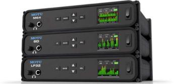NAMM NEWS 2017: Motu M64, 8D, LP32, USB-Audiointerfaces