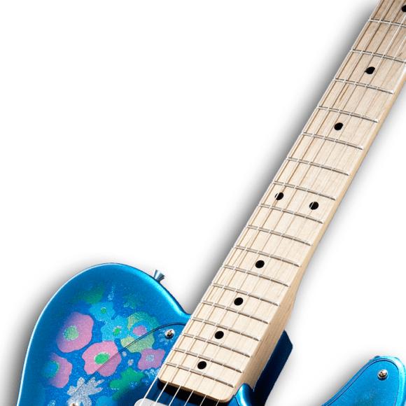 Fender Classic 69 Tele Blue Flower 1 neck