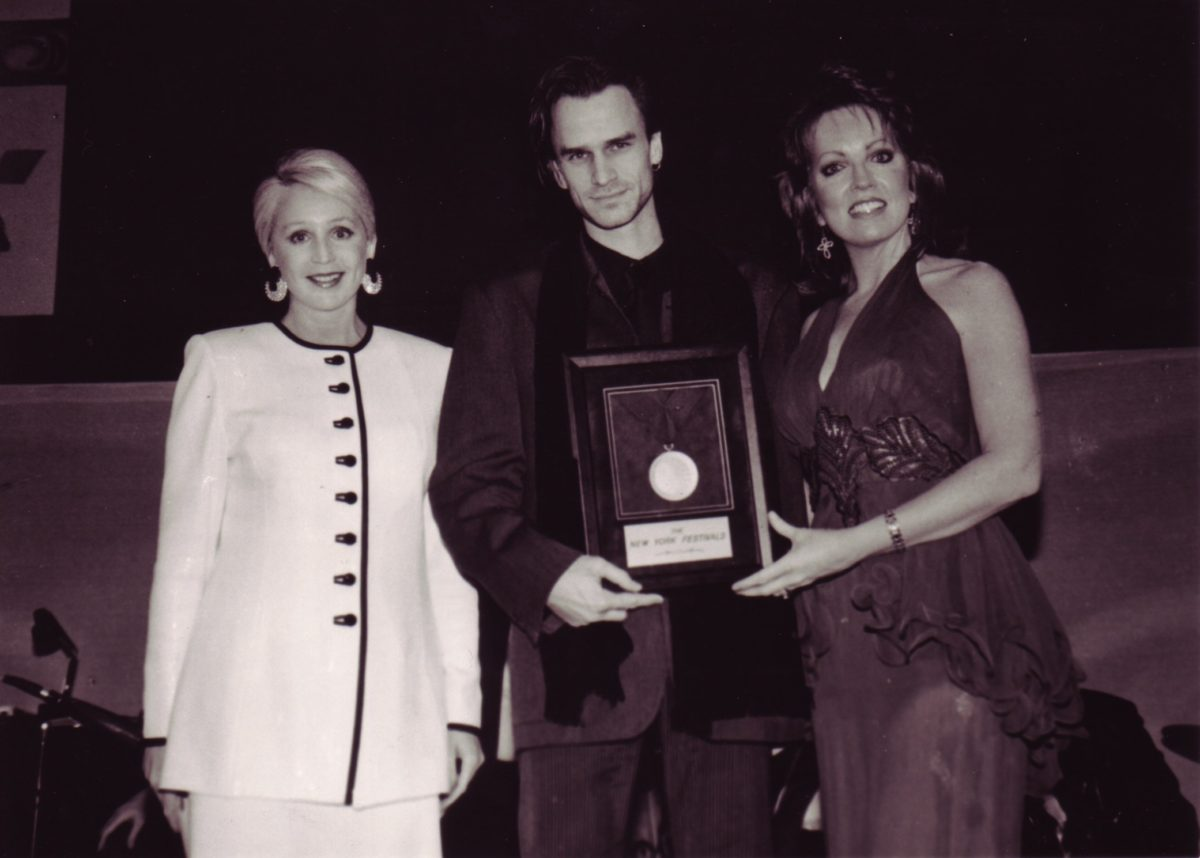 Preisverleihung in New York 1996