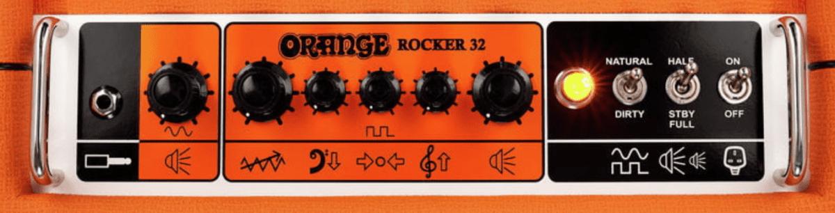 Orange Rocker 32 panel