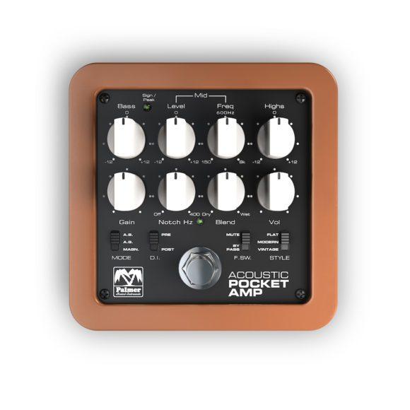 Palmer Acoustic Pocket Amp top