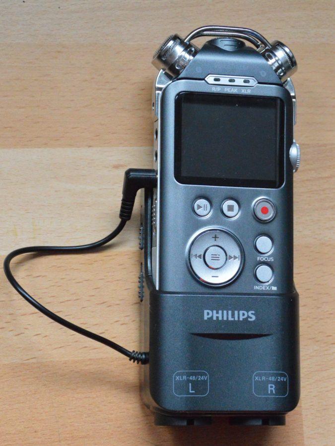 DVT7500 XLR-Schuh