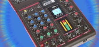 Test: Phonic Celeus Tube, Kompaktmixer