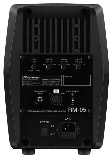 Pioneer RM-05 - Rückseite
