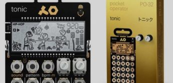 Test: Teenage Engineering PO-32 tonic, Drum-Synthesizer