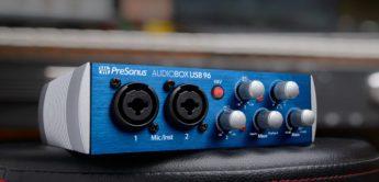 Test: Presonus Audiobox USB 96, USB-Audiointerface