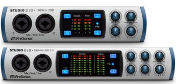 Test: PreSonus Studio 2|6, Studio 6|8, USB-Audio/MIDI/CV-Interface