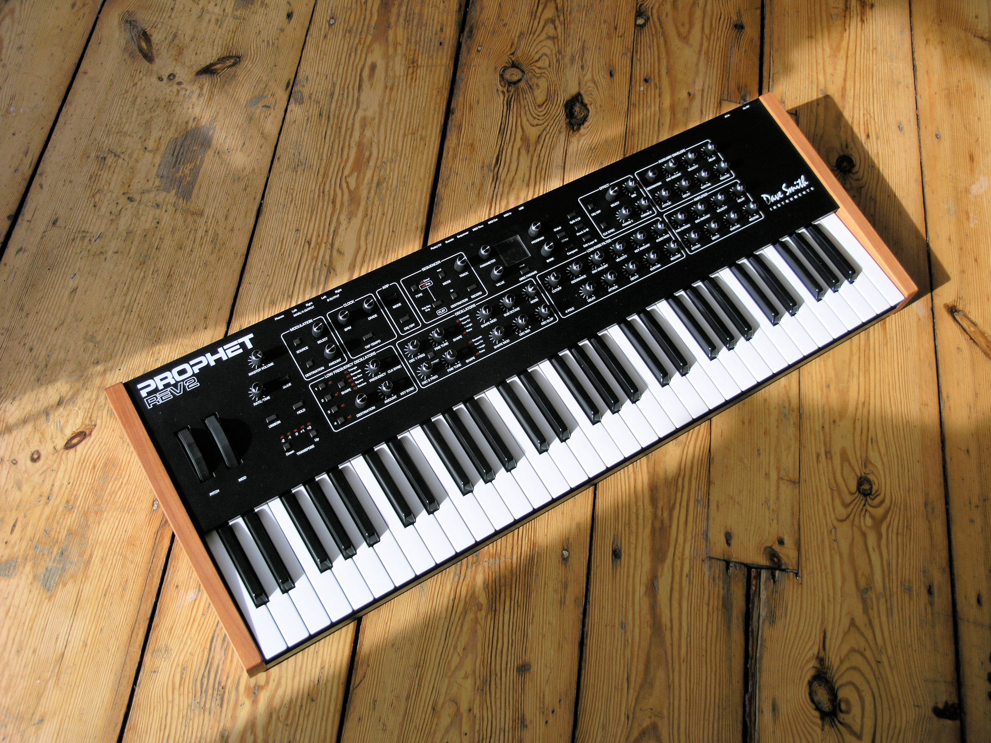 test dave smith instruments prophet rev2 synthesizer seite 7 von 7. Black Bedroom Furniture Sets. Home Design Ideas
