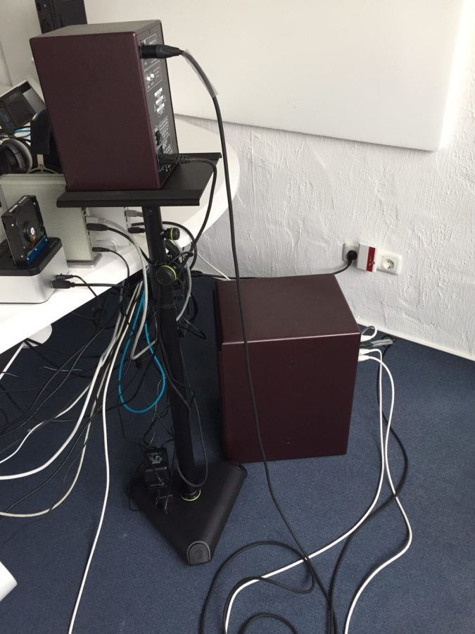 PSI Audio Active 14M Studio Red - Kabellage