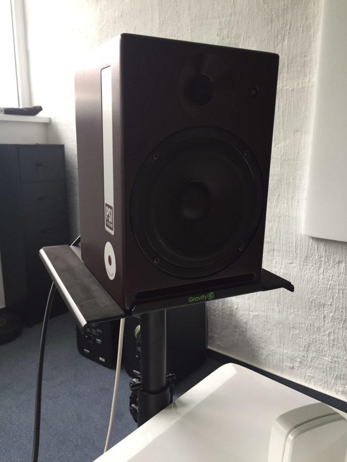 PSI Audio Active 14M Studio Red - im Einsatz