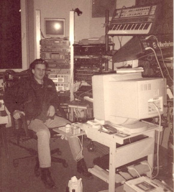 Ralf im Eye Q Studio 1996