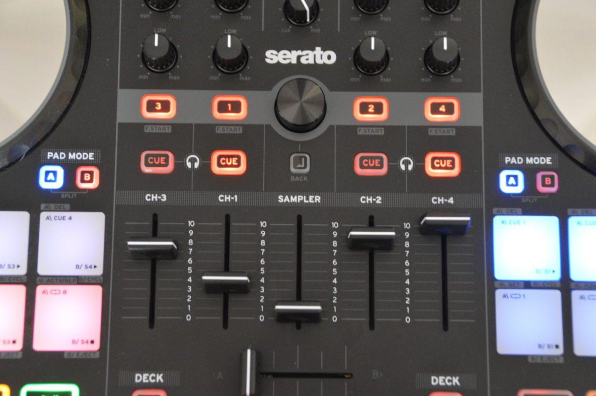 Reloop Beatmix 4 - einfach mehr im Griff