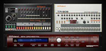 NAMM NEWS 2018: Roland TR-808, TR-909, SRX-Orchestra