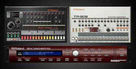 TR-808 und TR-909