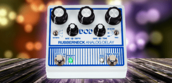 Test: DOD Rubberneck Analog Delay, Echopedal