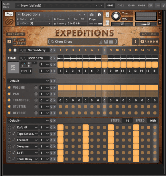 Sample Logic Expedition