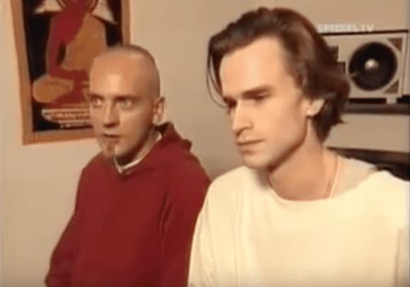 Sven Väth & Ralf Hildenbeutel in den 90ern (Quelle Spiegel TV)