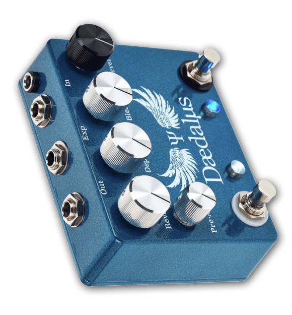 CopperSound Pedals Daedalus side