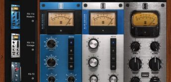 Test: Slate Digital FG-116 Blue, Kompressor-Plug-in