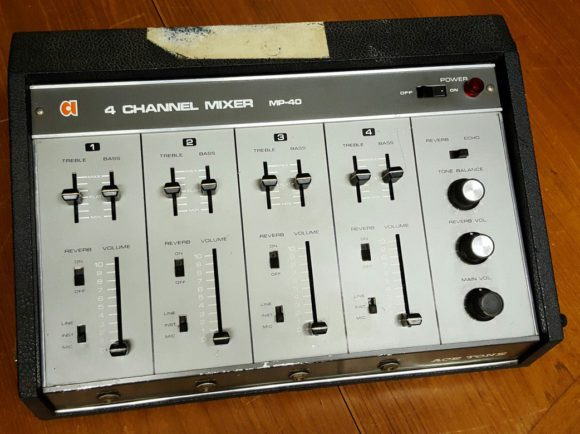 Ace Tone Vocal Mixer mit Federhall
