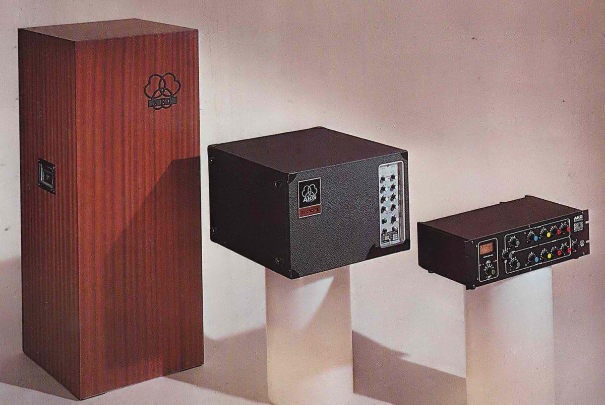 AKG-BX-Serie: BX20 (1972), BX10 (1975), BX5 (1980)