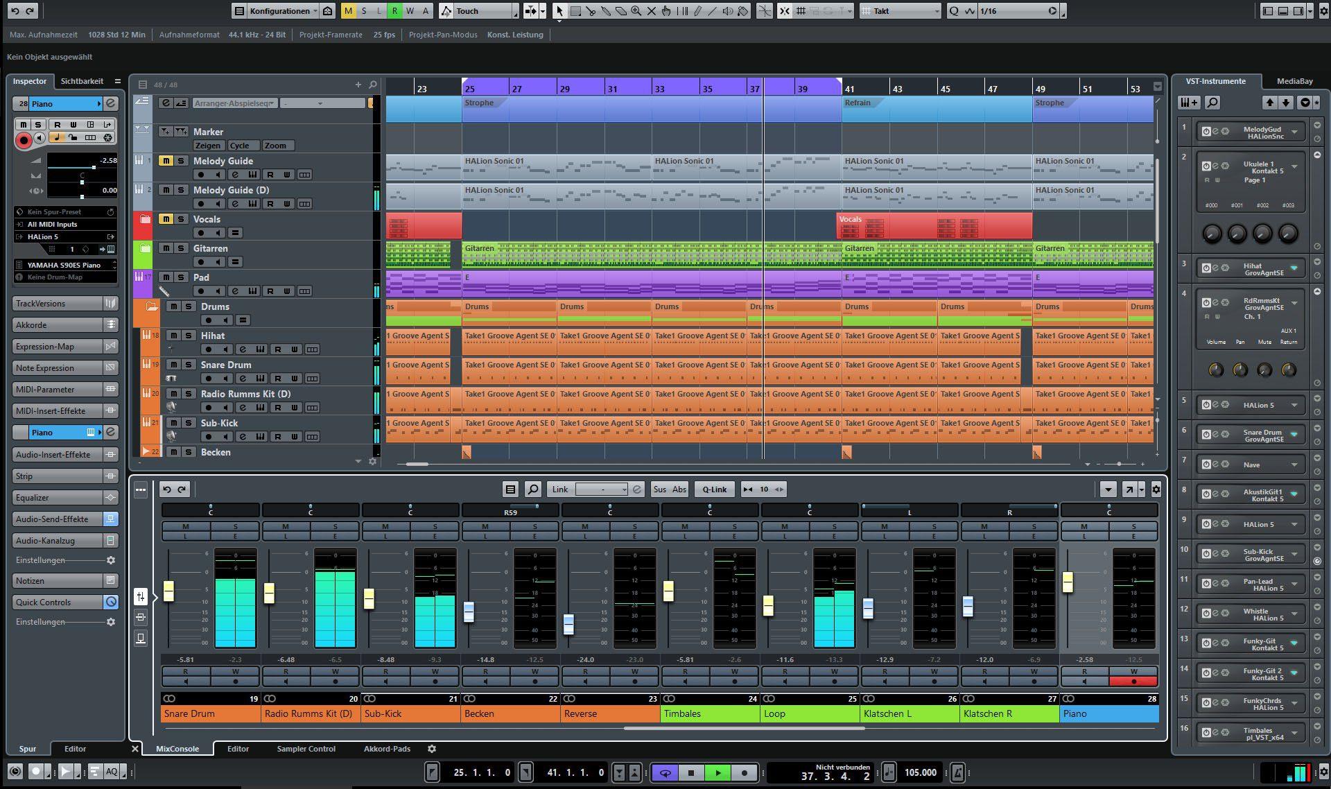 Test: Steinberg Cubase Pro 9, Digital Audio Workstation - AMAZONA de