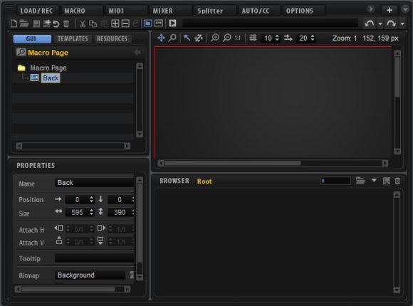 Eigene Oberflächen: Der Macro-Editor
