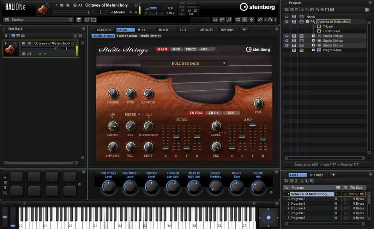 Die Studio Strings.