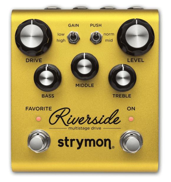 die besten Verzerrer für Gitarre Strymon Riverside