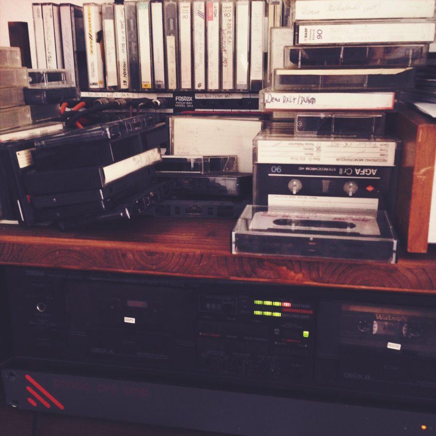 Tapes, auch heute noch in Rafs Studio