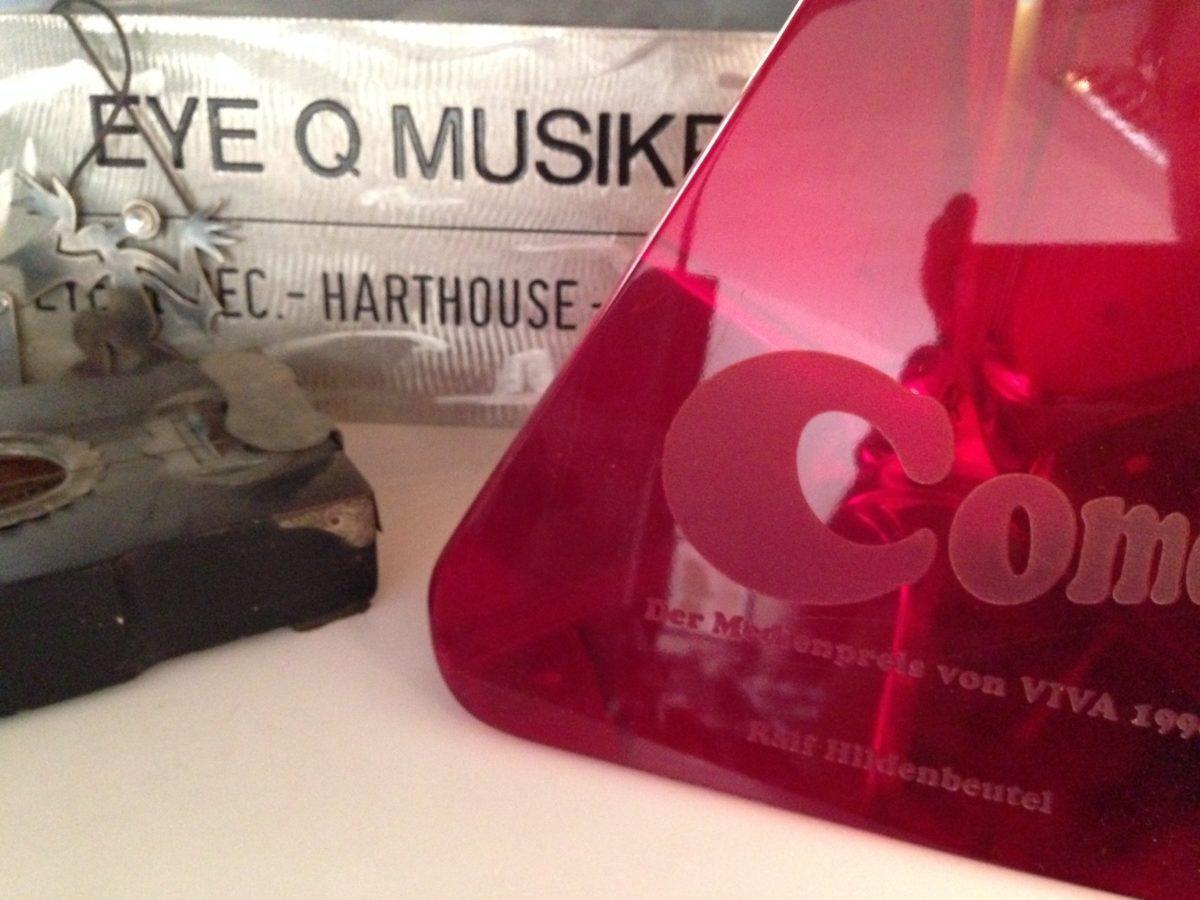 Erinnerungen an Eye Q Records, 2016 in Ralfs Studio