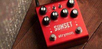Test: Strymon Sunset Dual Overdrive, Verzerrerpedal