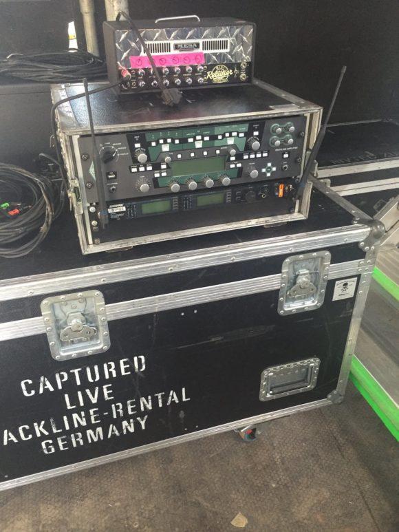 Der Kemper Amp im Live Betrieb 1