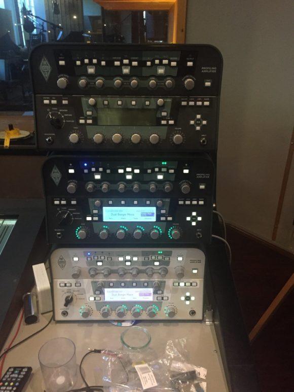Der Kemper Amp im Studioeinsatz