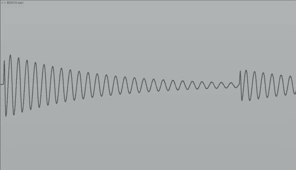 Der Accent ändert nicht nur die Lautstärke, sondern auch das Attack/Decay-Verhältnis.