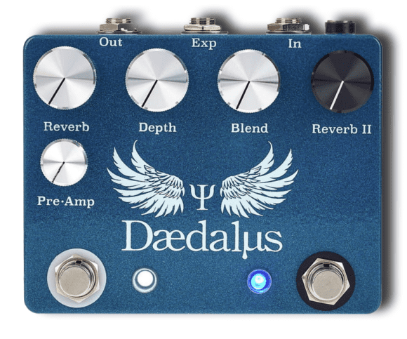 CopperSound Pedals Daedalus top