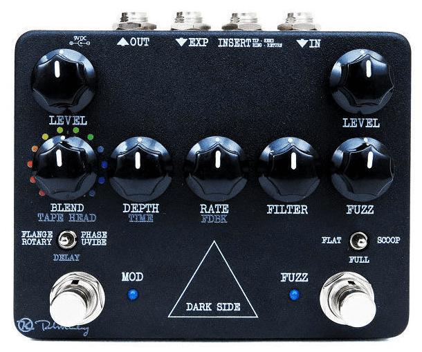 Test Keeley Dark Side Effektpedal F 252 R Gitarre Amazona De