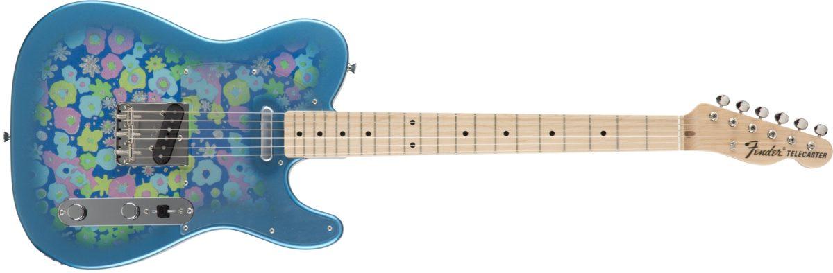 Fender Classic 69 Tele Blue Flower 1