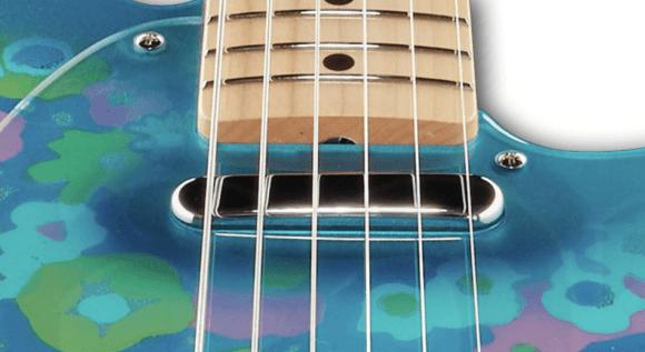Fender Classic 69 Tele Blue Flower pickup