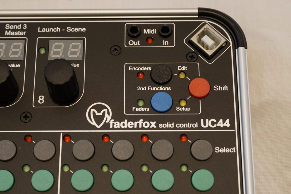 Faderfox UC44 Funktionen
